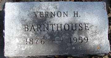 BARNTHOUSE, VERNON H. - Minnehaha County, South Dakota | VERNON H. BARNTHOUSE - South Dakota Gravestone Photos