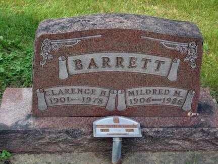 BARRETT, CLARENCE H. - Minnehaha County, South Dakota   CLARENCE H. BARRETT - South Dakota Gravestone Photos