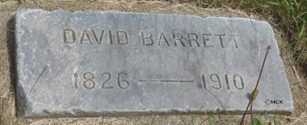 BARRETT, DAVID - Minnehaha County, South Dakota | DAVID BARRETT - South Dakota Gravestone Photos