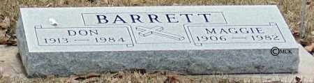 BARRETT, DON - Minnehaha County, South Dakota | DON BARRETT - South Dakota Gravestone Photos