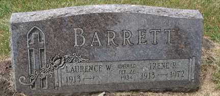 BARRETT, LAURENCE W. - Minnehaha County, South Dakota | LAURENCE W. BARRETT - South Dakota Gravestone Photos
