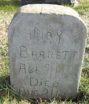 BARRETT, MAY - Minnehaha County, South Dakota   MAY BARRETT - South Dakota Gravestone Photos
