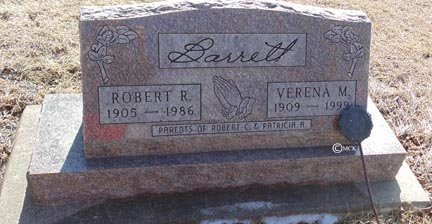 BARRETT, ROBERT R. - Minnehaha County, South Dakota | ROBERT R. BARRETT - South Dakota Gravestone Photos