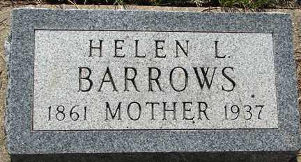 BARROWS, HELEN L. - Minnehaha County, South Dakota   HELEN L. BARROWS - South Dakota Gravestone Photos