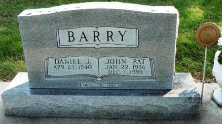 BARRY, DANIEL J. - Minnehaha County, South Dakota | DANIEL J. BARRY - South Dakota Gravestone Photos