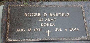 BARTELS, ROGER D. - Minnehaha County, South Dakota | ROGER D. BARTELS - South Dakota Gravestone Photos