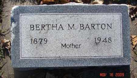 BARTON, BERTHA M. - Minnehaha County, South Dakota | BERTHA M. BARTON - South Dakota Gravestone Photos