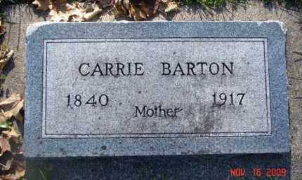 BARTON, CARRIE - Minnehaha County, South Dakota | CARRIE BARTON - South Dakota Gravestone Photos