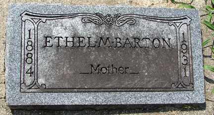 BARTON, ETHEL M. - Minnehaha County, South Dakota | ETHEL M. BARTON - South Dakota Gravestone Photos