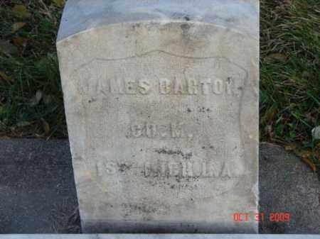BARTON, JAMES - Minnehaha County, South Dakota | JAMES BARTON - South Dakota Gravestone Photos