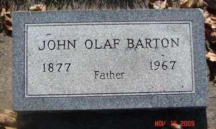 BARTON, JOHN OLAF - Minnehaha County, South Dakota | JOHN OLAF BARTON - South Dakota Gravestone Photos