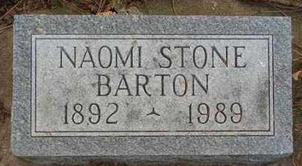STONE BARTON, NAOMI - Minnehaha County, South Dakota | NAOMI STONE BARTON - South Dakota Gravestone Photos