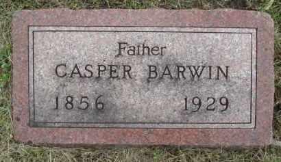 BARWIN, CASPER - Minnehaha County, South Dakota | CASPER BARWIN - South Dakota Gravestone Photos