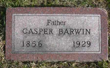 BARWIN, CASPER - Minnehaha County, South Dakota | CASPER BARWIN - South Dakota Gravestone Photos