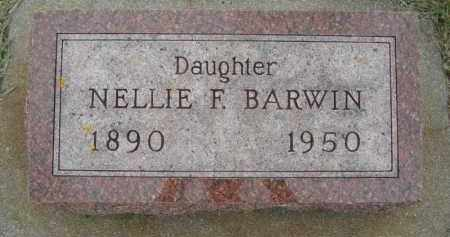BARWIN, NELLIE F. - Minnehaha County, South Dakota | NELLIE F. BARWIN - South Dakota Gravestone Photos