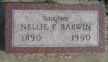 BARWIN, NELLIE F. - Minnehaha County, South Dakota | NELLIE F. BARWIN - South Dakota Gravestone Photos