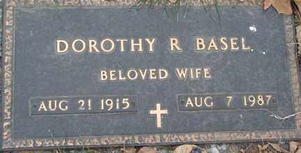 BASEL, DOROTHY R. - Minnehaha County, South Dakota | DOROTHY R. BASEL - South Dakota Gravestone Photos
