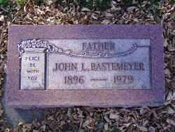 BASTEMEYER, JOHN L. - Minnehaha County, South Dakota | JOHN L. BASTEMEYER - South Dakota Gravestone Photos