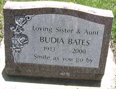 BATES, BUDIA - Minnehaha County, South Dakota | BUDIA BATES - South Dakota Gravestone Photos