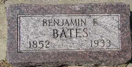 BATES, BENJAMIN F. - Minnehaha County, South Dakota   BENJAMIN F. BATES - South Dakota Gravestone Photos