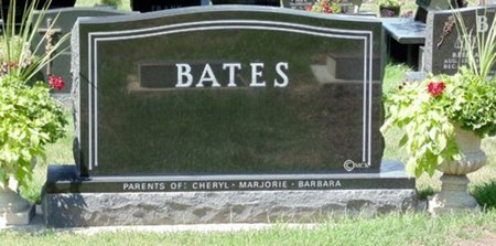 BATES, FAMILY HEADSONE - Minnehaha County, South Dakota | FAMILY HEADSONE BATES - South Dakota Gravestone Photos