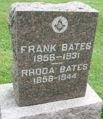 BATES, RHODA - Minnehaha County, South Dakota   RHODA BATES - South Dakota Gravestone Photos
