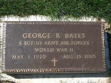 BATES, GEORGE R. - Minnehaha County, South Dakota   GEORGE R. BATES - South Dakota Gravestone Photos