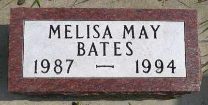 BATES, MELISA MAY - Minnehaha County, South Dakota | MELISA MAY BATES - South Dakota Gravestone Photos