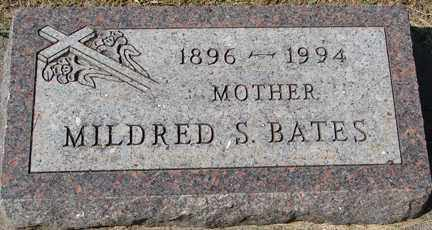 BATES, MILDRED S. - Minnehaha County, South Dakota | MILDRED S. BATES - South Dakota Gravestone Photos