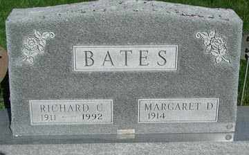 BATES, MARGARET D. - Minnehaha County, South Dakota | MARGARET D. BATES - South Dakota Gravestone Photos