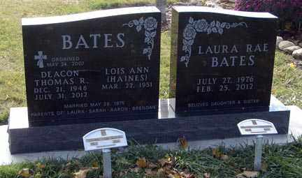 BATES, THOMAS ROBERT - Minnehaha County, South Dakota | THOMAS ROBERT BATES - South Dakota Gravestone Photos