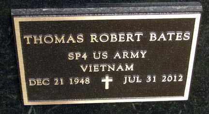 BATES, THOMAS ROBERT - Minnehaha County, South Dakota | THOMAS ROBERT BATES - South Dakota Gravestone Photos