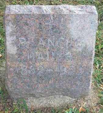 BAUER, BLANCHE - Minnehaha County, South Dakota | BLANCHE BAUER - South Dakota Gravestone Photos
