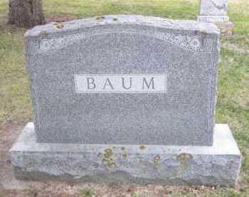 BAUM, FAMILY STONE - Minnehaha County, South Dakota | FAMILY STONE BAUM - South Dakota Gravestone Photos