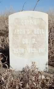 BELL, ARCHIBALD - Minnehaha County, South Dakota   ARCHIBALD BELL - South Dakota Gravestone Photos