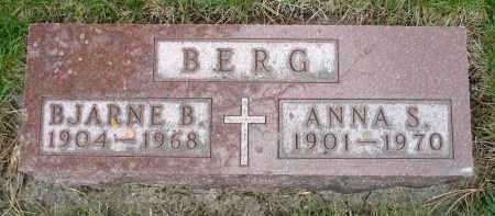 BERG, ANNA S. - Minnehaha County, South Dakota | ANNA S. BERG - South Dakota Gravestone Photos