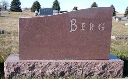 BERG, GEHARD ORLIN - Minnehaha County, South Dakota | GEHARD ORLIN BERG - South Dakota Gravestone Photos