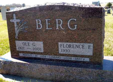 BERG, FLORENCE E. - Minnehaha County, South Dakota | FLORENCE E. BERG - South Dakota Gravestone Photos