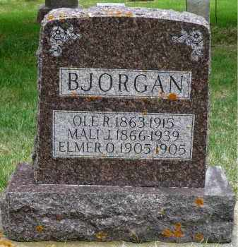 BJORGAN, OLE R. - Minnehaha County, South Dakota | OLE R. BJORGAN - South Dakota Gravestone Photos