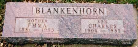 BLANKENHORN, EMMA ELISE - Minnehaha County, South Dakota   EMMA ELISE BLANKENHORN - South Dakota Gravestone Photos