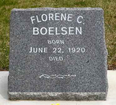 BOELSEN, FLORENE C. - Minnehaha County, South Dakota   FLORENE C. BOELSEN - South Dakota Gravestone Photos