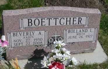 BOETTCHER, ROLLAND L. - Minnehaha County, South Dakota | ROLLAND L. BOETTCHER - South Dakota Gravestone Photos
