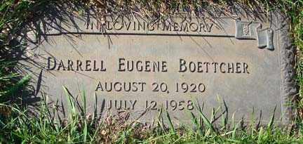 BOETTCHER, DARRELL EUGENE - Minnehaha County, South Dakota | DARRELL EUGENE BOETTCHER - South Dakota Gravestone Photos