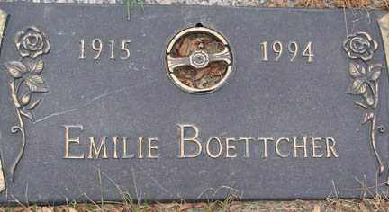 BOETTCHER, EMILIE - Minnehaha County, South Dakota | EMILIE BOETTCHER - South Dakota Gravestone Photos