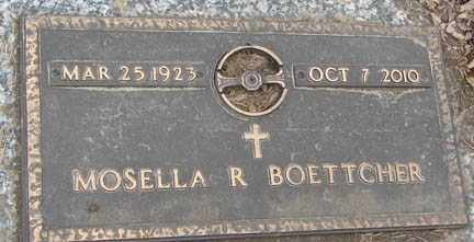 BOETTCHER, MOSELLA R. - Minnehaha County, South Dakota | MOSELLA R. BOETTCHER - South Dakota Gravestone Photos