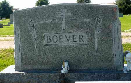 BOEVER, FAMILY MARKER - Minnehaha County, South Dakota | FAMILY MARKER BOEVER - South Dakota Gravestone Photos