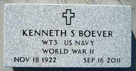 BOEVER, KENNETH SYLVESTER - Minnehaha County, South Dakota | KENNETH SYLVESTER BOEVER - South Dakota Gravestone Photos