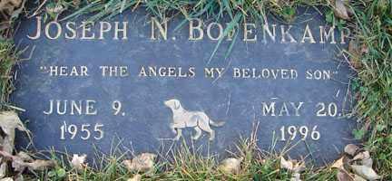 BOFENKAMP, JOSEPH N. - Minnehaha County, South Dakota | JOSEPH N. BOFENKAMP - South Dakota Gravestone Photos