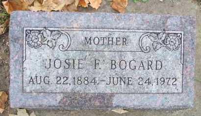 BOGARD, JOSIE F. - Minnehaha County, South Dakota | JOSIE F. BOGARD - South Dakota Gravestone Photos