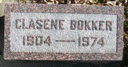 BOKKER, CLASENE - Minnehaha County, South Dakota | CLASENE BOKKER - South Dakota Gravestone Photos